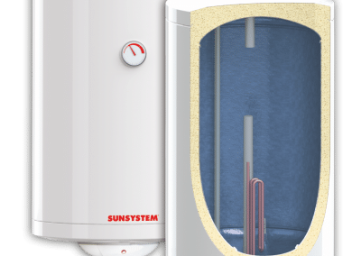Wall-hung water heaters SUNSYSTEM MB EL