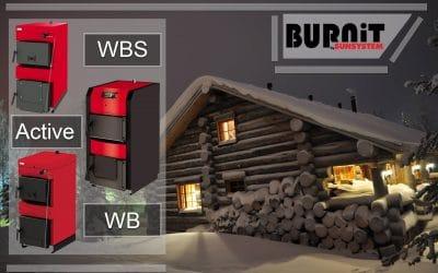 WBS гама котли за отопление на твърдо гориво