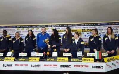 Отбор на месец декември – Волейболния Марица