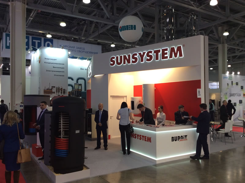 BURNiT and SUNSYSTEM in Aquatherm – Moscow