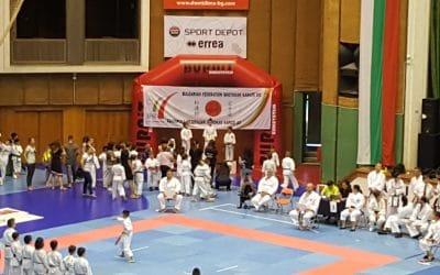 Националното отборно първенство по Шотокан Карате – До 2018 с подкрепата на BURNiT