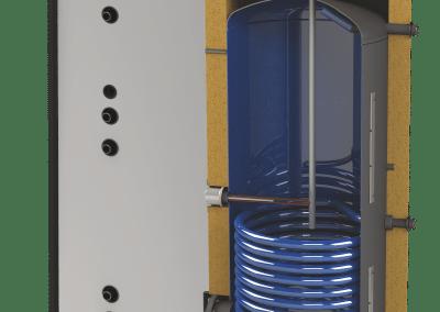 Подови бойлери с увеличена топлообменна площ SUNSYSTEM SN-EXT