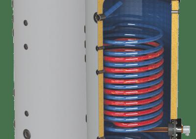 Подови бойлери с две паралелни серпентини SUNSYSTEM SON PRL