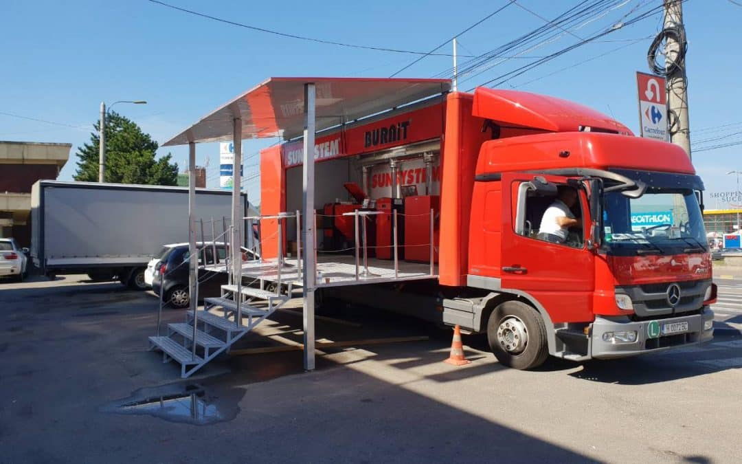 The Info truck BURNiT continues its European tour 2018 in Greece