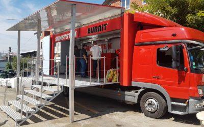 Инфомобилът BURNiT продължава своя Европейски Тур 2018  в Македония, Черна Горa и Босна и Херцеговина