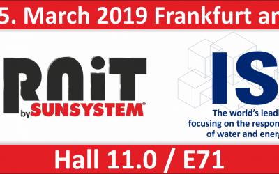 BURNiT представя своите продукти на изложението ISH във Франкфурт