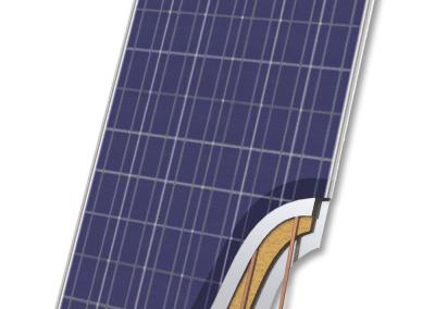 Hybrid solar panel BURNiT PVT 240