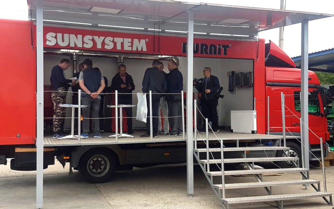 The Info truck BURNiT starts its European tour 2019 in Serbia