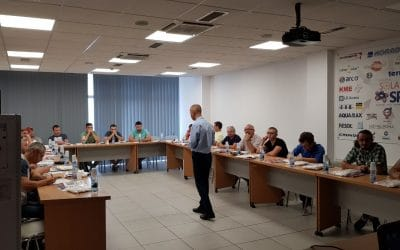 Presentation of BURNiT pellet stoves on the Romanian market
