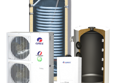 Heat pump kit SUNSYSTEM SPLIT