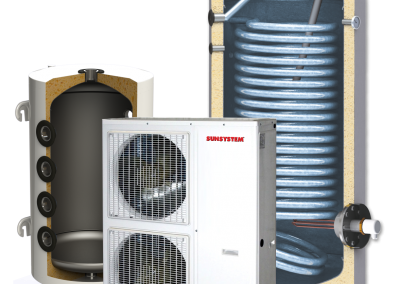 Heat pump kit SUNSYSTEM MONO