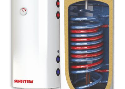 Enameled water heaters SUNSYSTEM BB NL PRL