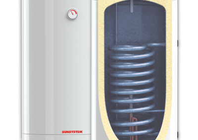 Enameled water heaters SUNSYSTEM BB S1