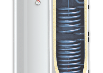 Enameled water heaters BB S2