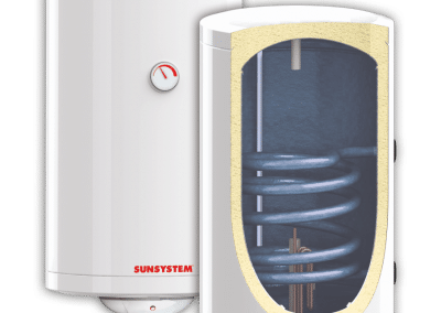 Enameled water heaters SUNSYSTEM MB S1