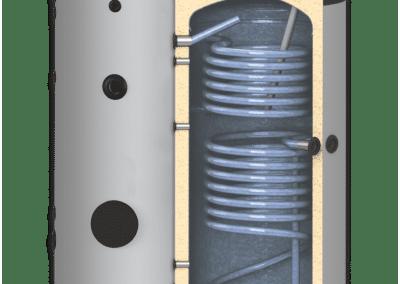 Подови бойлери с две серпентини SUNSYSTEM ST