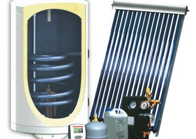 Panouri solare plane SUNSYSTEM ALL INCLUSIVE MB-BB + VTC – 120-200 I.