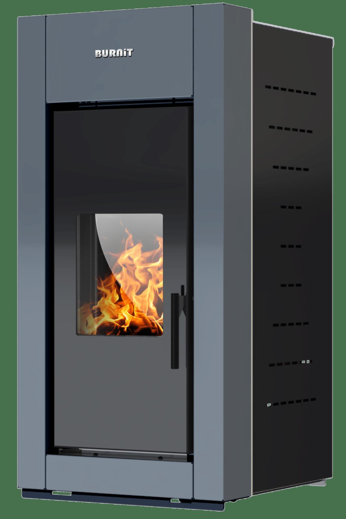 Pellet stove Trend_Anthracite Grey_Burnit