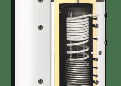 Хигиенични комбинирани бойлери SUNSYSTEM HYG BR EF- с една серпентина