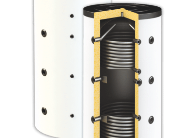 Buffer tanks SUNSYSTEM PBM-R2 EF – with two coils