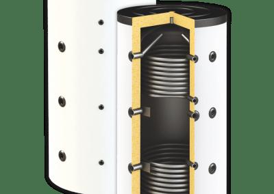 Буферни съдове SUNSYSTEM PBM R2 EF с две серпентини