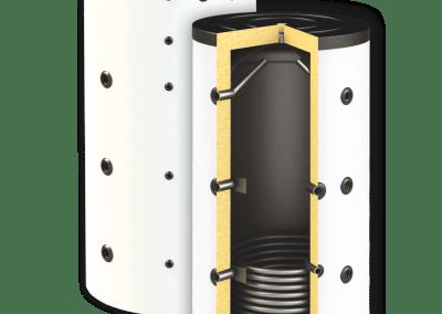 Буферни съдове SUNSYSTEM PBM R EF – с една серпентина