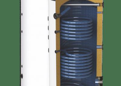 Подови бойлери с две серпентини SUNSYSTEM SON – EF