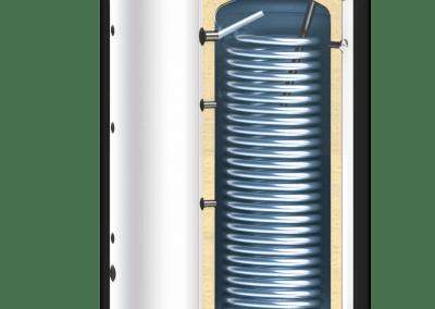 Бойлери за термопомпени системи SUNSYSTEM SWP NL EF – с една серпентина