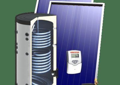 Соларен комплект SUNSYSTEM ALL INCLUSIVE SON + PK SL FP – 200-500 л.