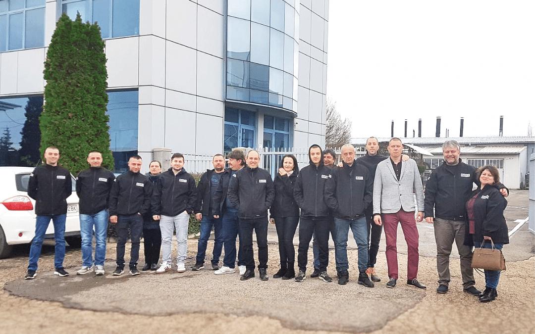 BURNiT проведе специализирано обучение за сервизни инженери